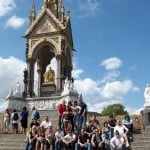 Prince Albert Memorial in London, England