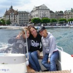 Cruising on Lake Lucerne in Switzerland